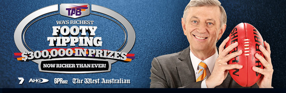 WA's Richest Footy Tipping $150,000, 6PR882 Yahoo7, The West Australian